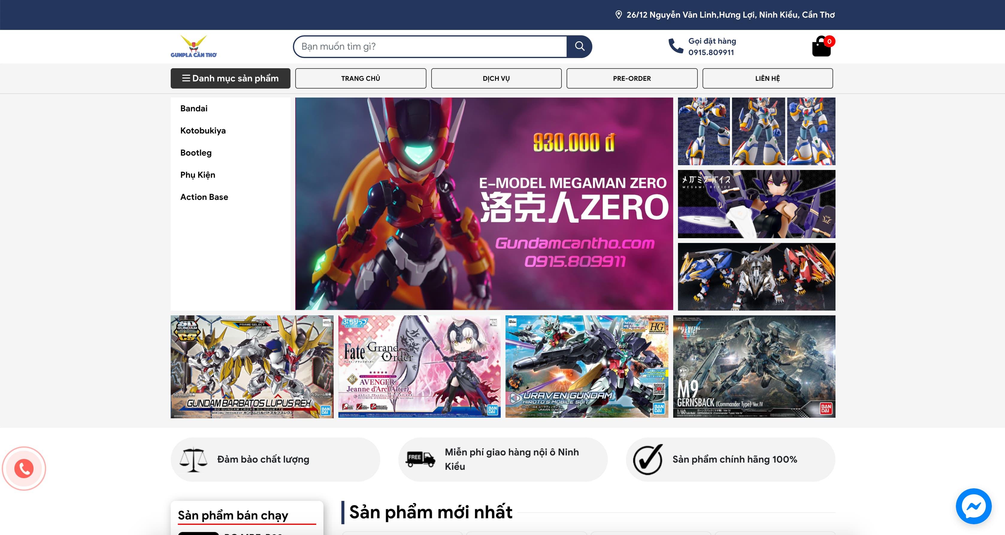 Gundam Cần Thơ