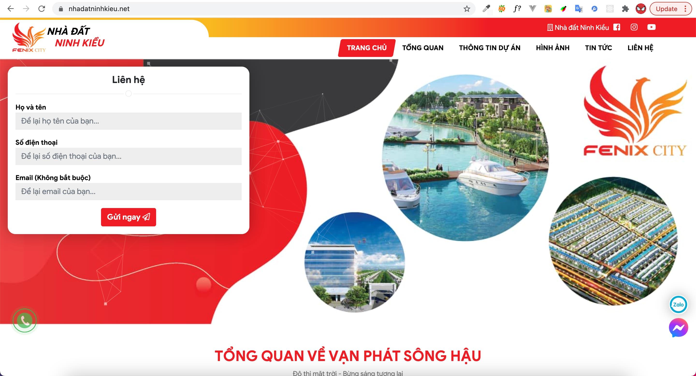 Nhà đất Ninh Kiều